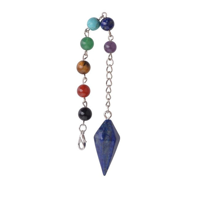 Crystal Faceted Dowsing Pendulum-ToShay.org