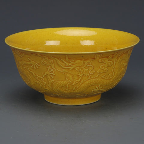 Glazed Dragon Bowl-ToShay.org