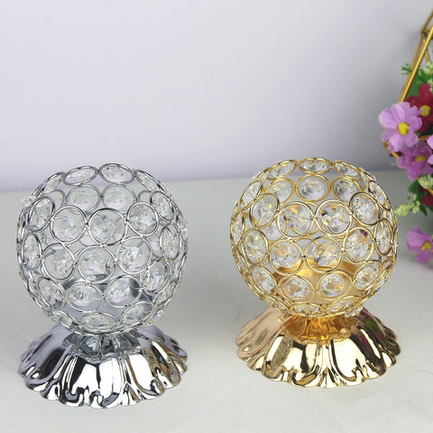 Crystal Candle Holders-ToShay.org