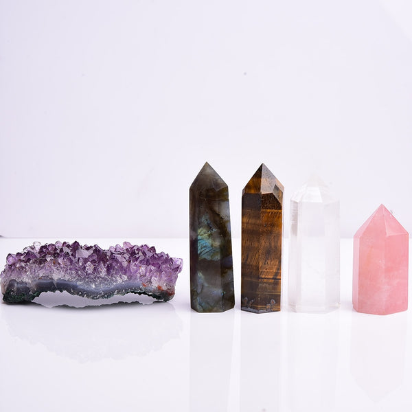 Crystal Wand Point Box Set-ToShay.org