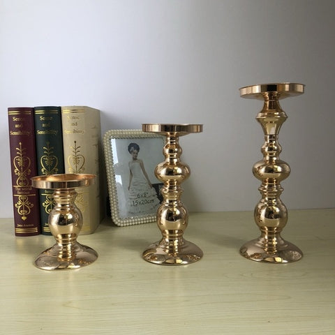 Gold Candle Stand-ToShay.org