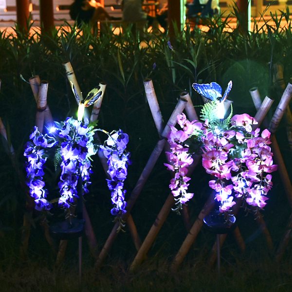 Solar Flower Lights-ToShay.org
