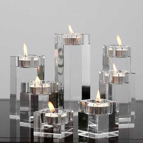 Crystal Candle Holder-ToShay.org