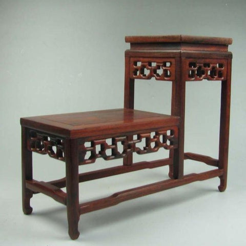 Rosewood Display Shelf-ToShay.org