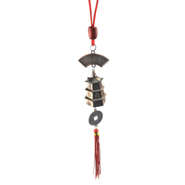 Pagoda Red String Wind Bell-ToShay.org