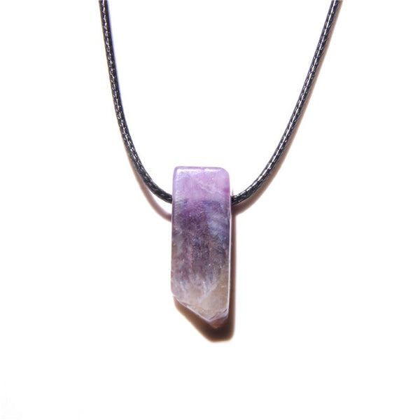 Mixed Crystal Quartz Chip Necklace-ToShay.org