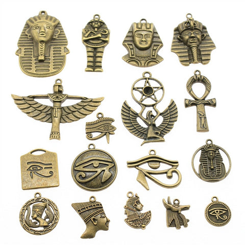 Bronze Egypt Charms-ToShay.org