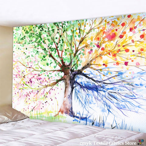 Tree Tapestry Wall Hanging-ToShay.org