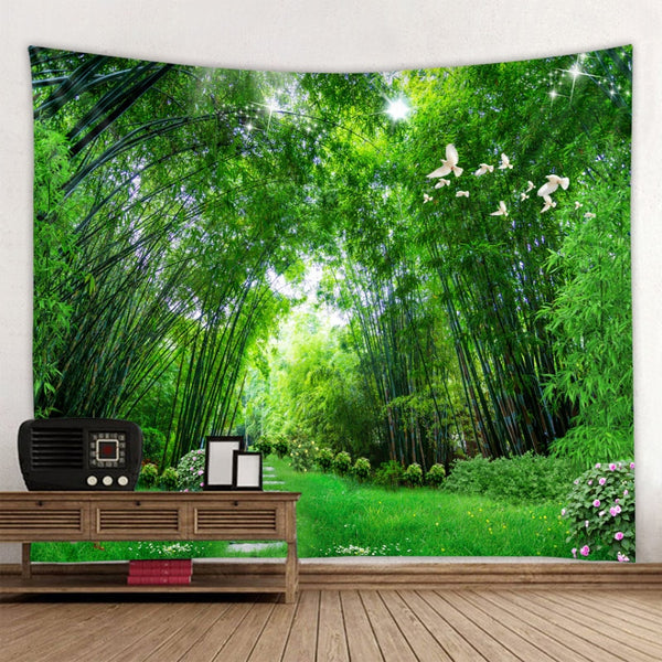 Forest Tapestry Wall Tapestry-ToShay.org