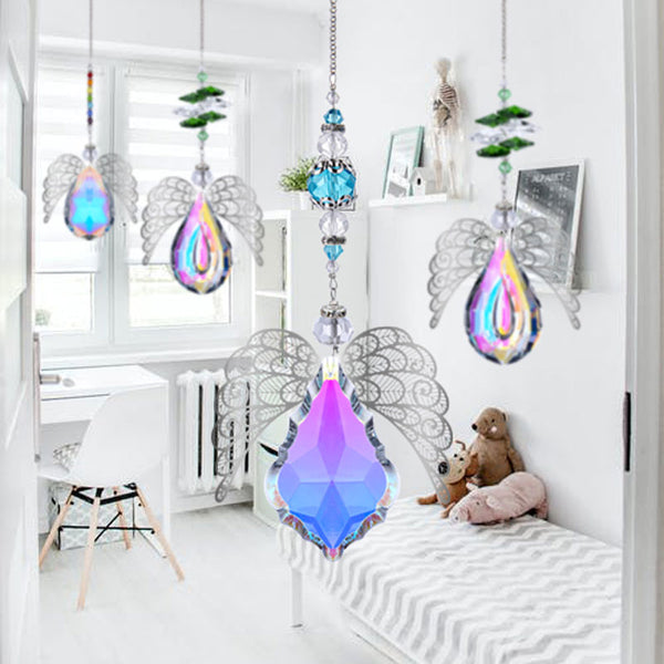 Angel Crystal Suncatcher Set-ToShay.org