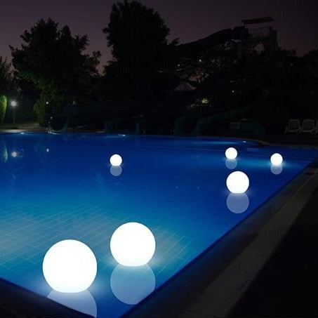 Waterproof LED Garden Ball Light RGB Underwater light IP68 Outdoor Christmas Wedding Party Lawn Lamps Swimming Pool Floating-ToShay.org