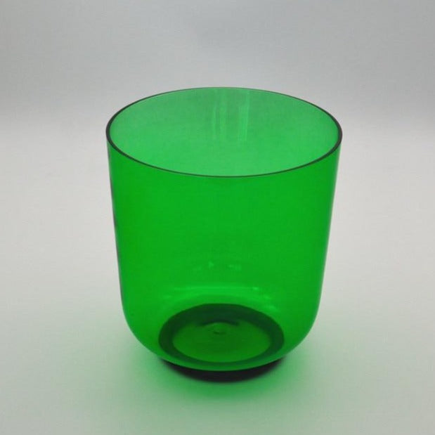 Clear Green Crystal Singing Bowl-ToShay.org