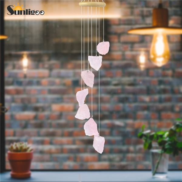 Rose Quartz Wind Chimes-ToShay.org