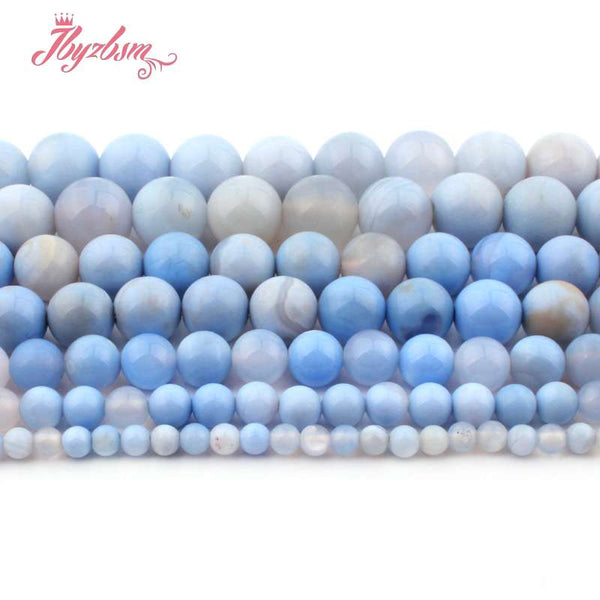 Blue Agate Beads-ToShay.org