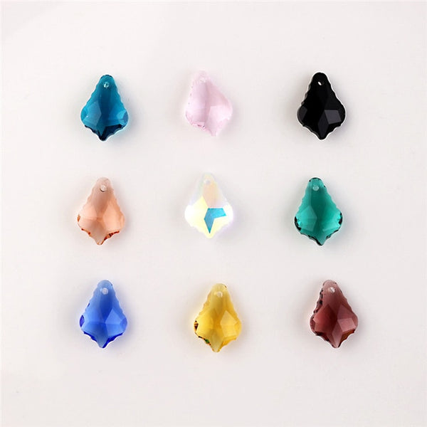 Mixed Crystal Leaf Beads-ToShay.org