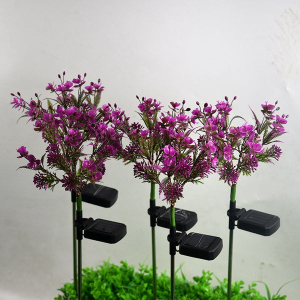 Solar Butterfly Orchid Lighting-ToShay.org
