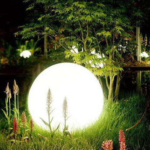 Outdoor Party Wedding bar Floating Lawn Lamps Rechargeable Waterproof LED Garden Ball Lights landscape lighting-ToShay.org