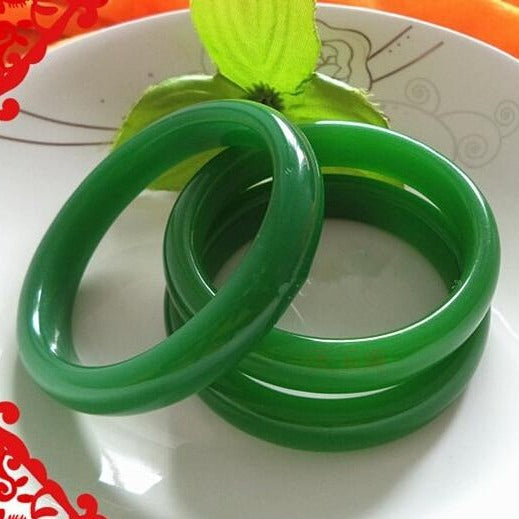 Green Jadeite Bangle-ToShay.org
