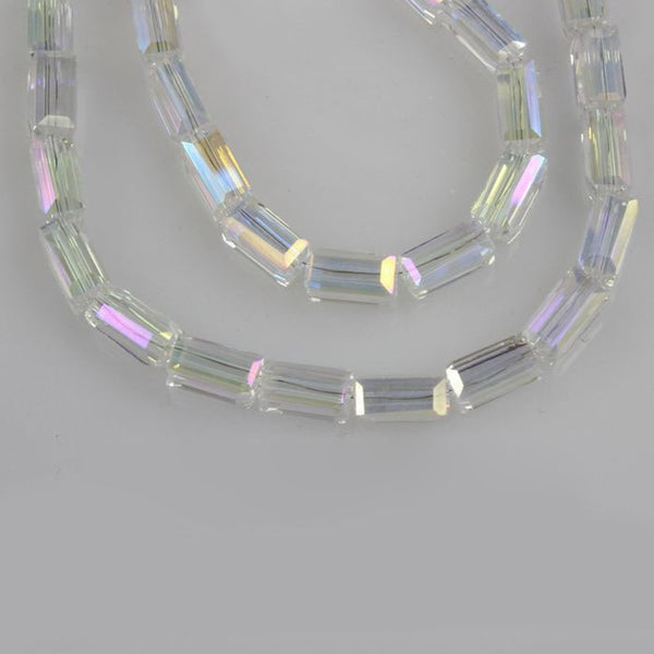 Clear Crystal Rectangle Beads-ToShay.org