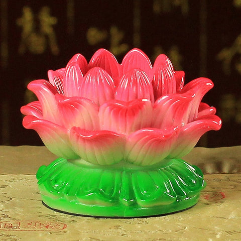 Lotus Butter Candle Lamp-ToShay.org