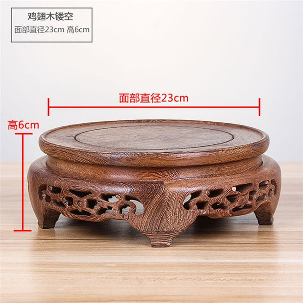 Wood Flower Base-ToShay.org