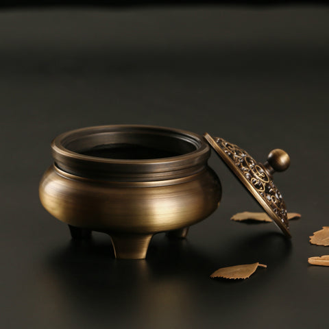 Copper Incense Burner-ToShay.org