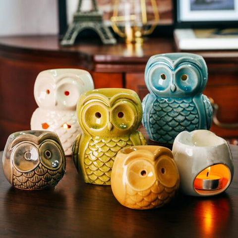 Owl Essential Oil Burner-ToShay.org