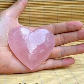 Rose Quartz Crystal Heart-ToShay.org