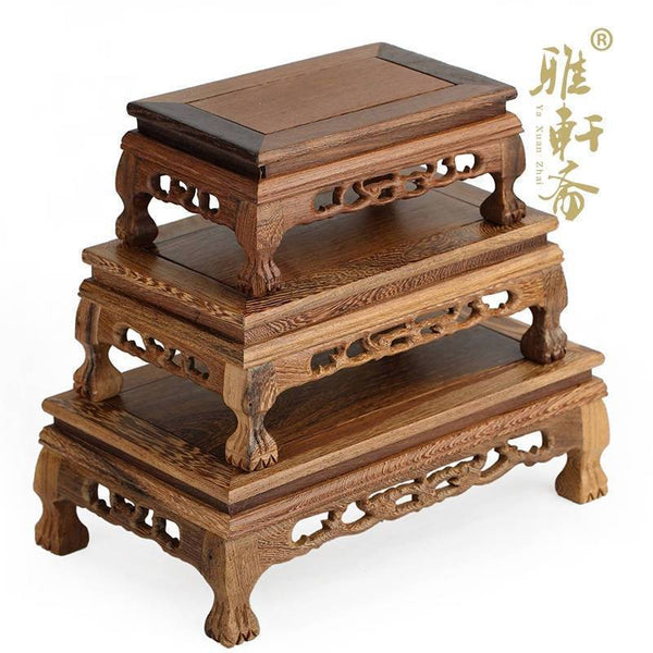 Rosewood Carved Table Stand-ToShay.org