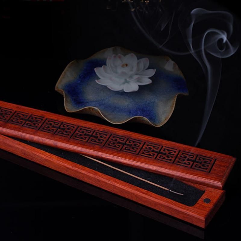 Rosewood Stick Incense Box-ToShay.org