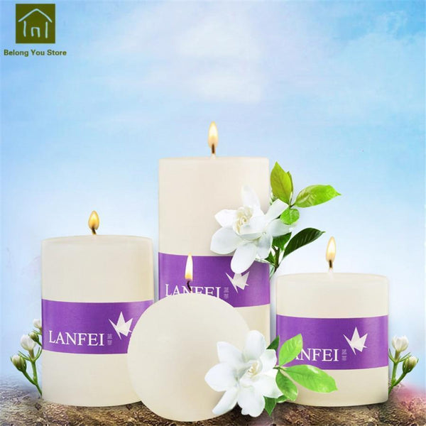 Scented Pillar Candles-ToShay.org