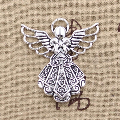 Silver Angel Charms-ToShay.org