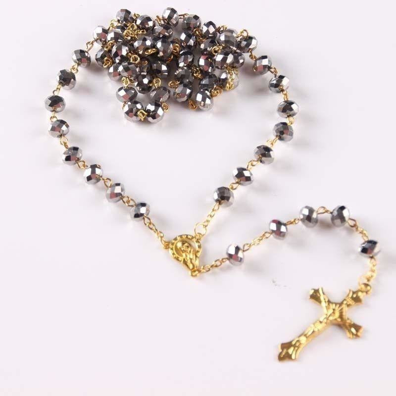 Silver Rosary Beads-ToShay.org
