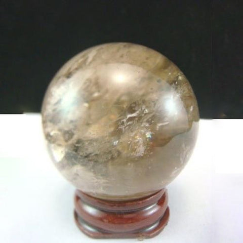 Smoky Quartz Crystal Ball-ToShay.org