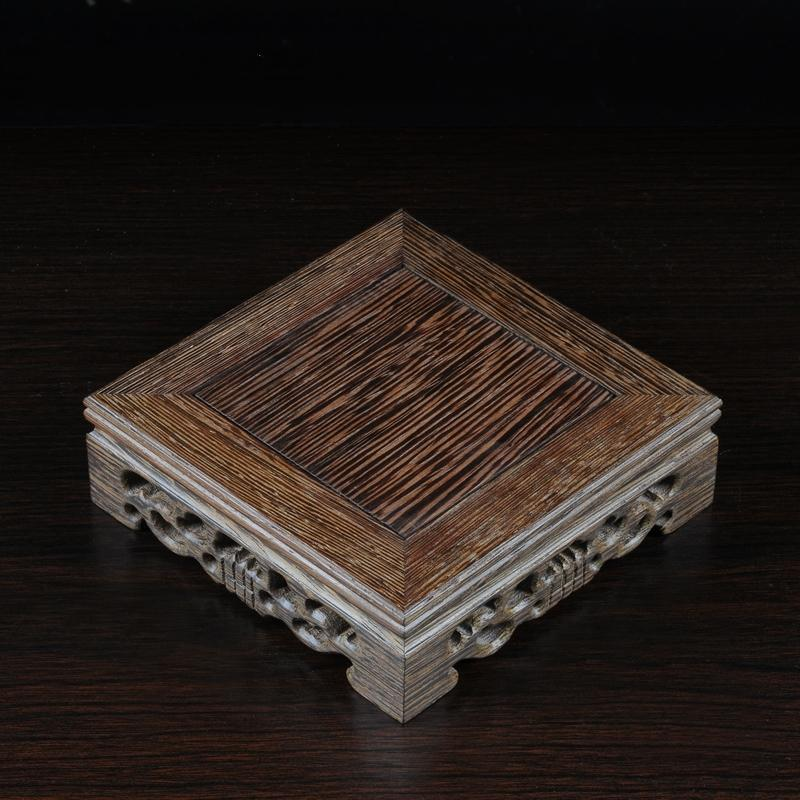Square Wood Pedestal-ToShay.org