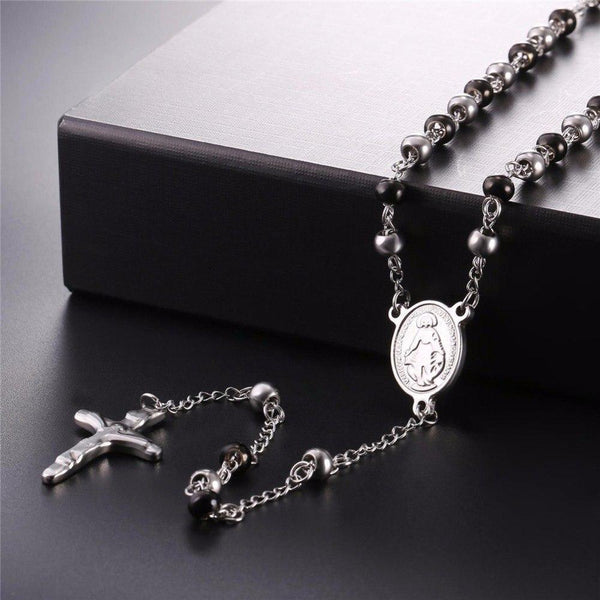 Steel Rosary Beads-ToShay.org