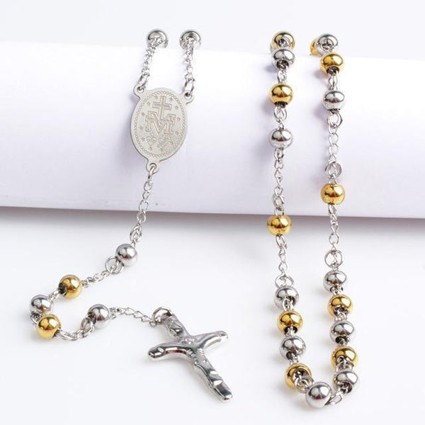 Steel Rosary Beads -ToShay.org