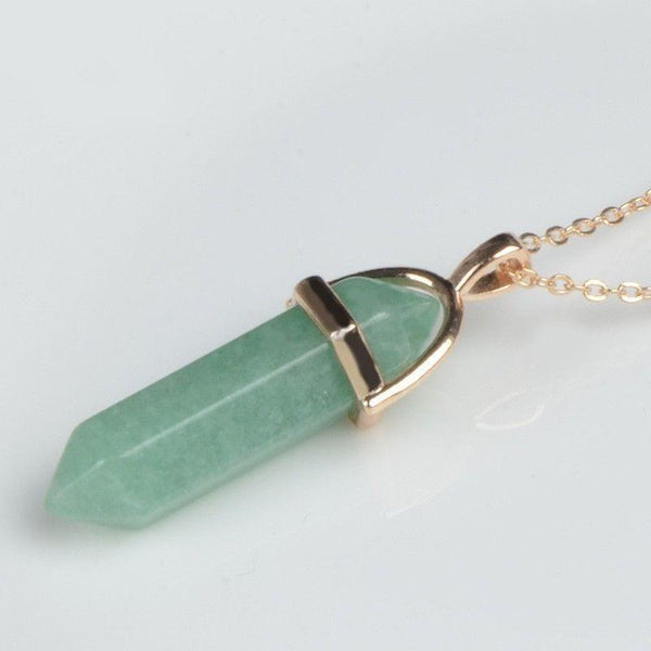 Crystal Point Pendant-ToShay.org