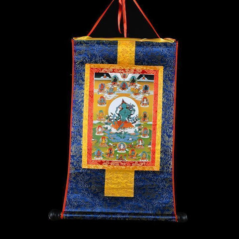 Tibetan Thangka Scroll-ToShay.org