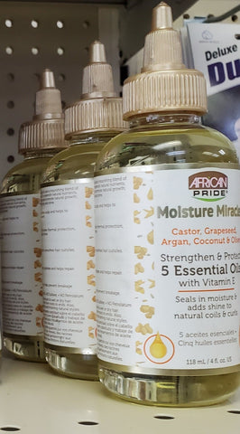 African Pride Moisture Miracle 5 Essential Oils