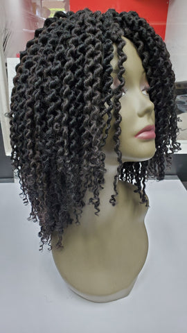 Crochet Braid Twistout Wig