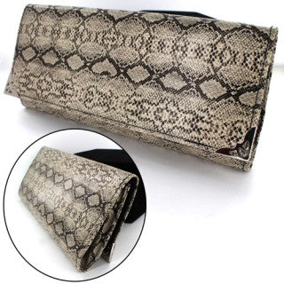 Snake Skin Leatherette  Purse