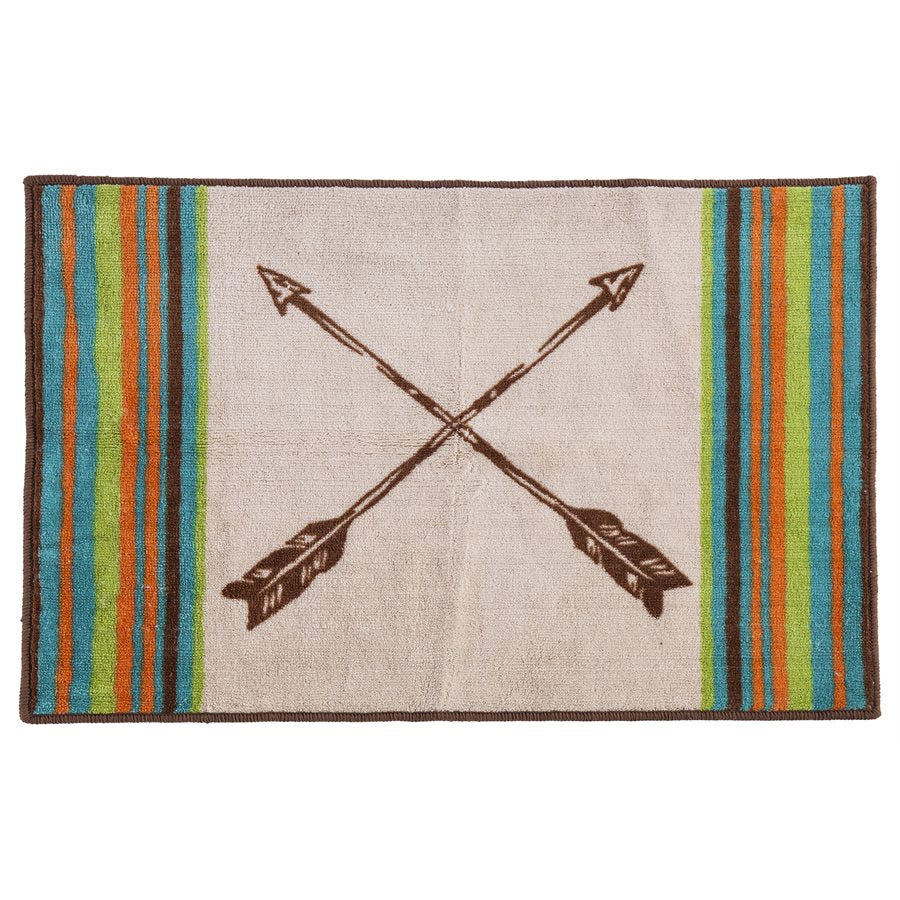 Crossed Arrows Rug