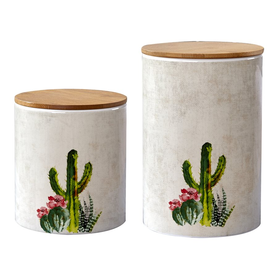 Cactus Canister Set
