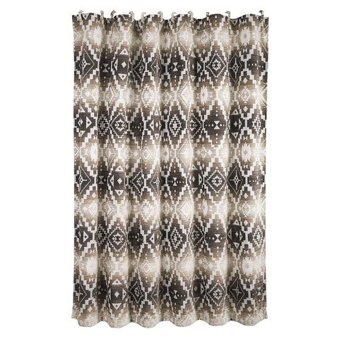 Chalet Aztec Shower Curtain