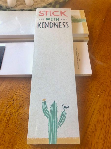 Stick With Kindness Magnetic Notepad