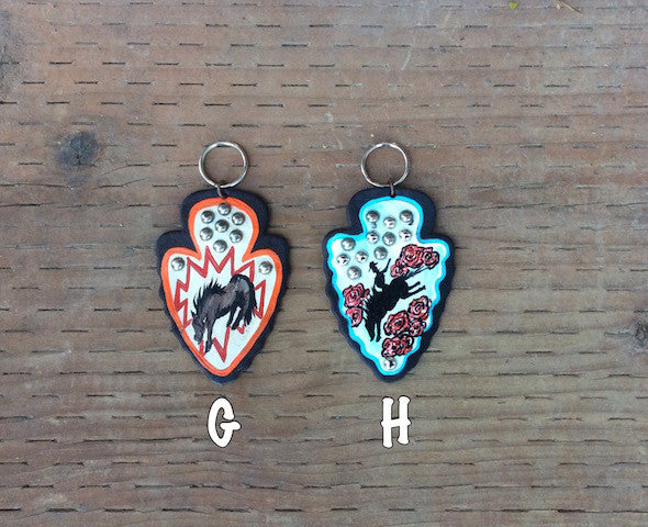 Hand Painted Key Chains