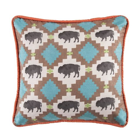 Yellowstone Buffalo Pillow