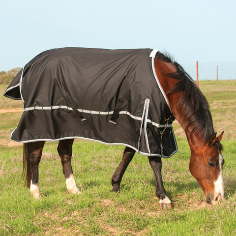 5K Cross Trainer Turnout Blanket - Black