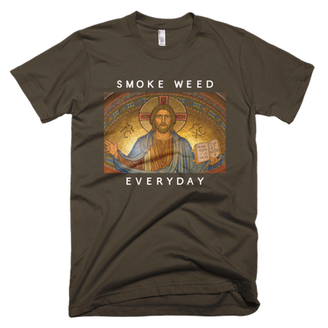 Smoke Weed Everyday with Jesus t-shirt